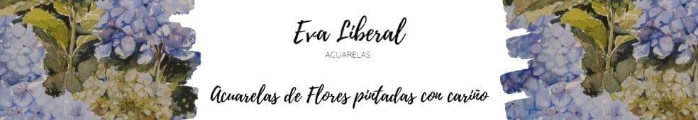 banner acuarelas de flores eva liberal web