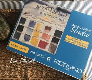 mejor papel acuarela para principiantes fabriano watercolor studio de 75 hojas