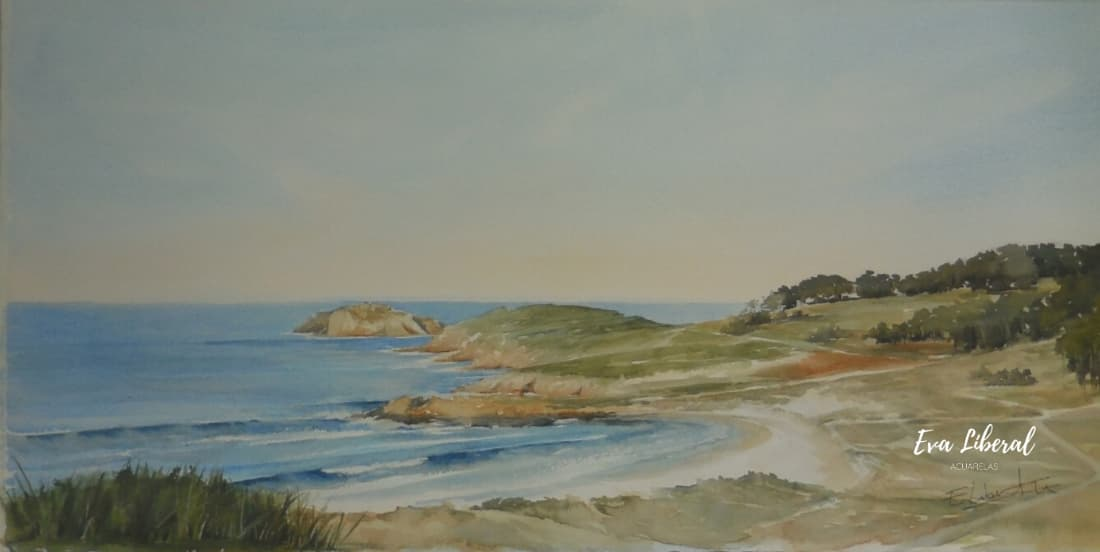 playa doniños ferrol acurela marinas eva liberal