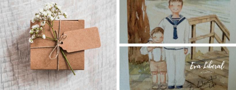 ideas-detalles-comunion-para-niños-orginales-eva-liberal-acuarelas-personalizadas