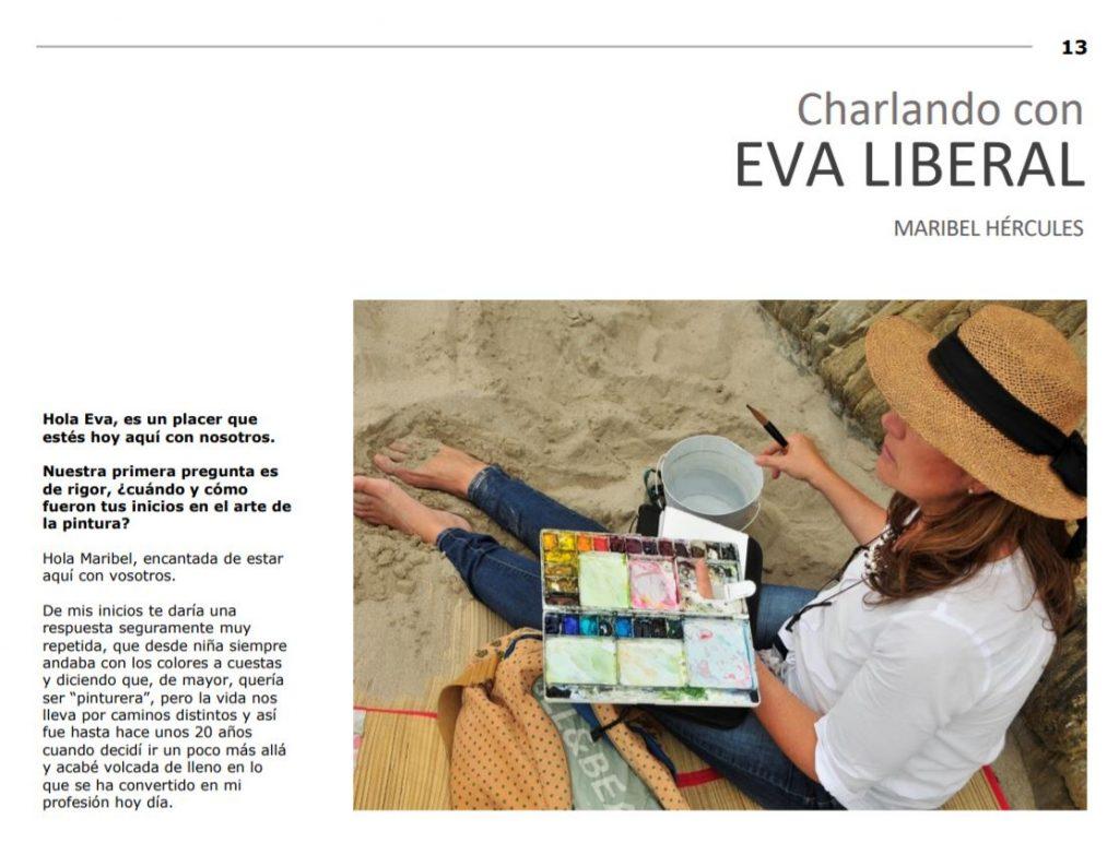 pagina-uno-entrevista-eva-liberal-revista-asociacion-acuarelistas-majadahonda