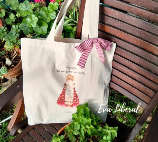 comprar-tote-bag-original-acuarela-virgencita-eva-liberal-que-me-quede-como-estoy